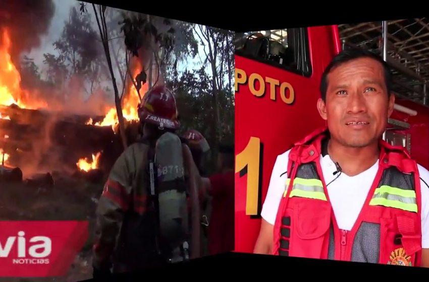 Cía de bomberos recomienda no quemar malezas para evitar incendios