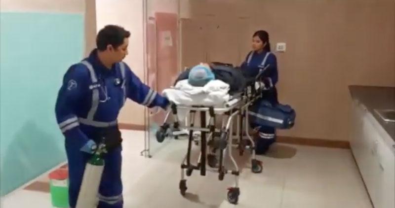 Trasladan a Lima al exalcalde de Pelejo que resultó herido de bala