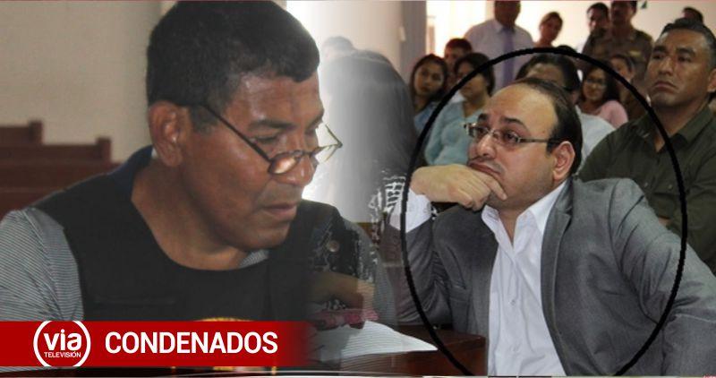 Condenan a 8 años de prisión a los ex fiscales Esteban Clavijo García y Arnaldo Valle Marino