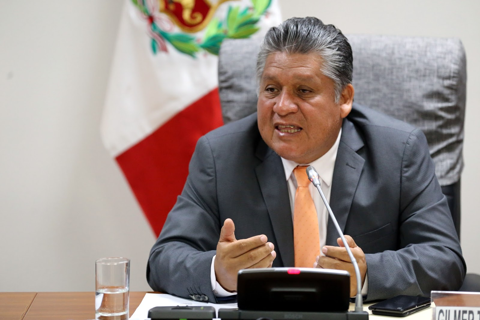 Según 'Ojo Público' Gilmer Trujillo, el fujimorista disuelto que quiere volver al Congreso