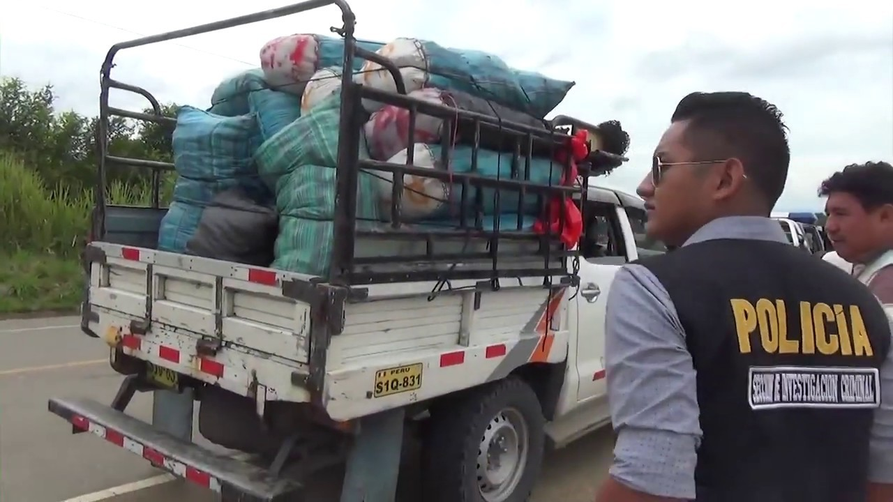 Incautan 2000 kilos de pescado seco por no contar con la documentación para su traslado