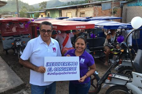 Enrique Flores, Nº1 del Partido Morado, declaró dos sentencias por demandas de alimentos interpuestas por sus exparejas.