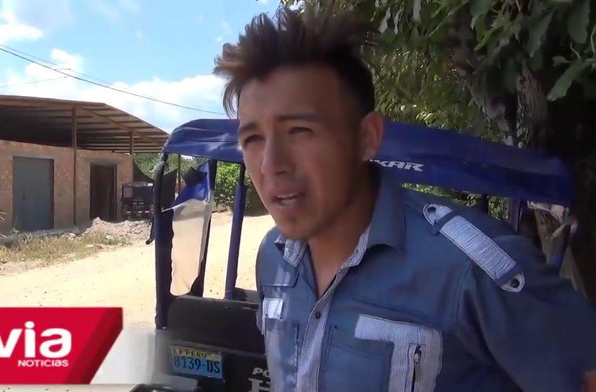Morales: accidente de tránsito termina en trifulca en el sector Oasis