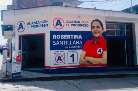 Robertina Santillana creó la empresa Vía Televisión en el 2003 en Tarapoto.