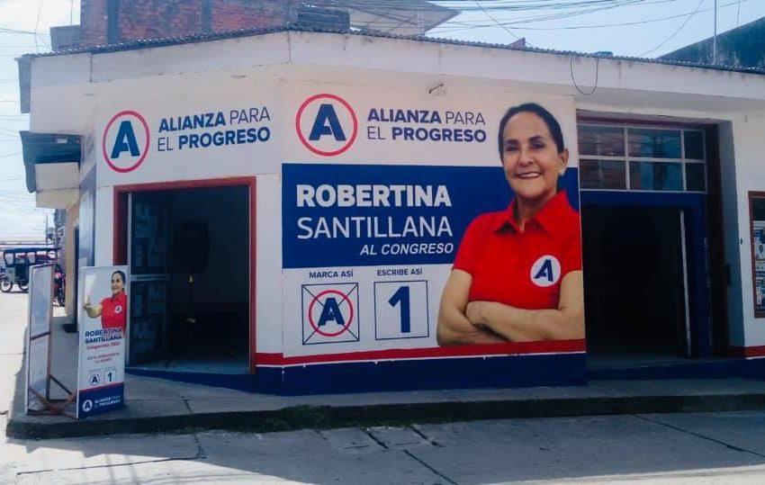 Según 'Ojo Público' Robertina Santillana, candidata al congreso señala que no tiene vínculos con el fujimorismo y aclara aporte a empresario Rolando Reategui