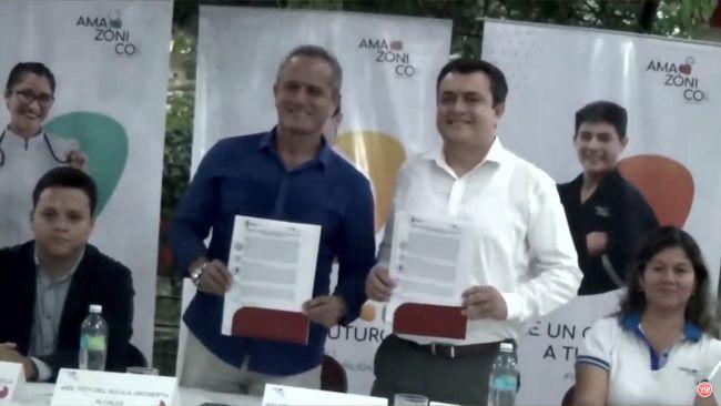 Tarapoto: Instituto Amazónico firma importante convenio interinstitucional con la MPSM