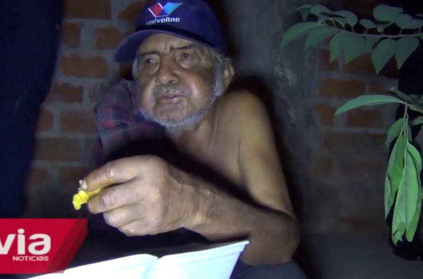 Anciano encontrado entre arbustos de Villa Tecnológico no recuerda su dirección