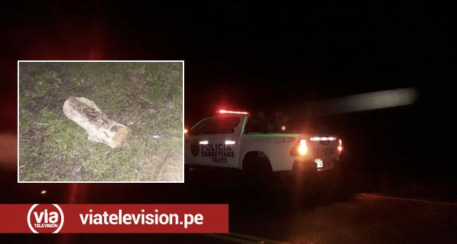 Delincuentes armados asaltan y roban en carretera cerca de Tabalosos