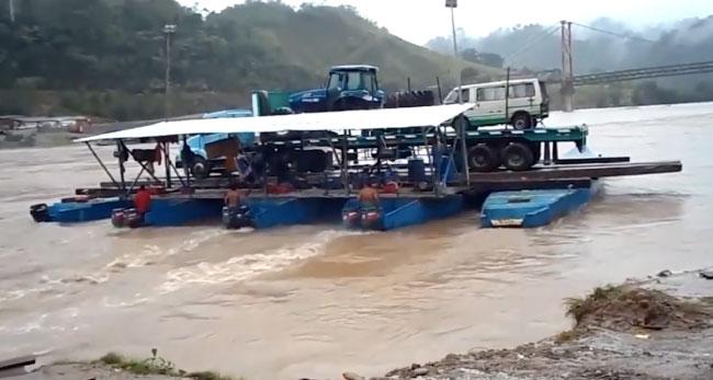 Juanjuí: suspenden huelga convocada por retraso de expediente técnico para puente Tarata