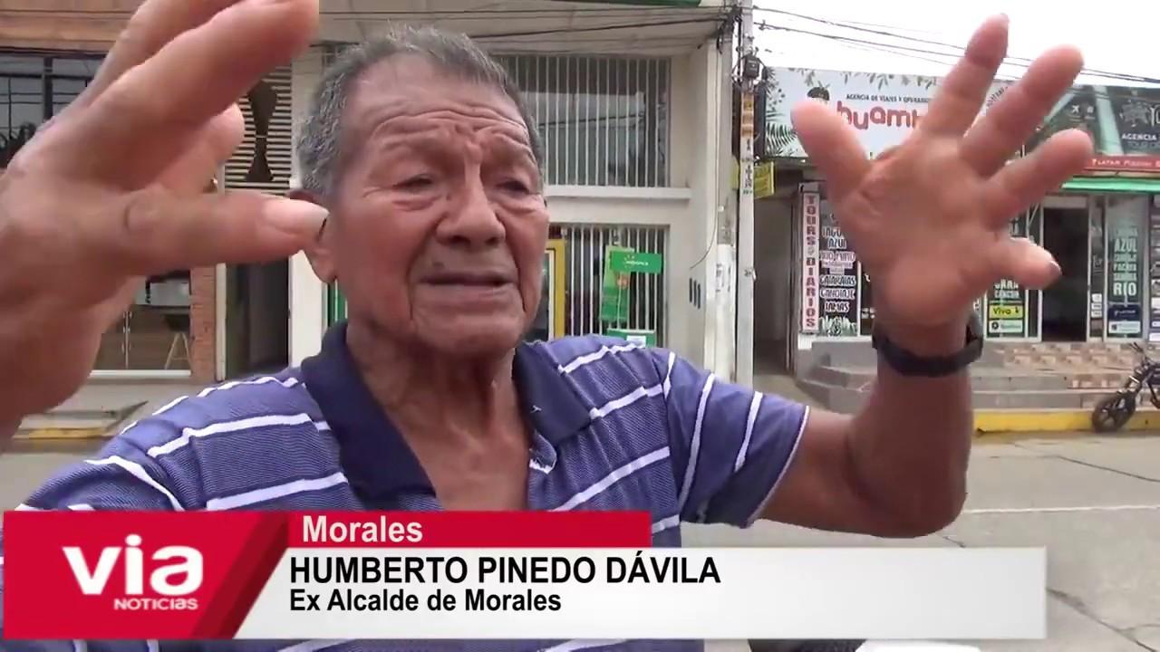 Ex alcalde Humberto Pinedo tiene intención de volver a postular al municipio