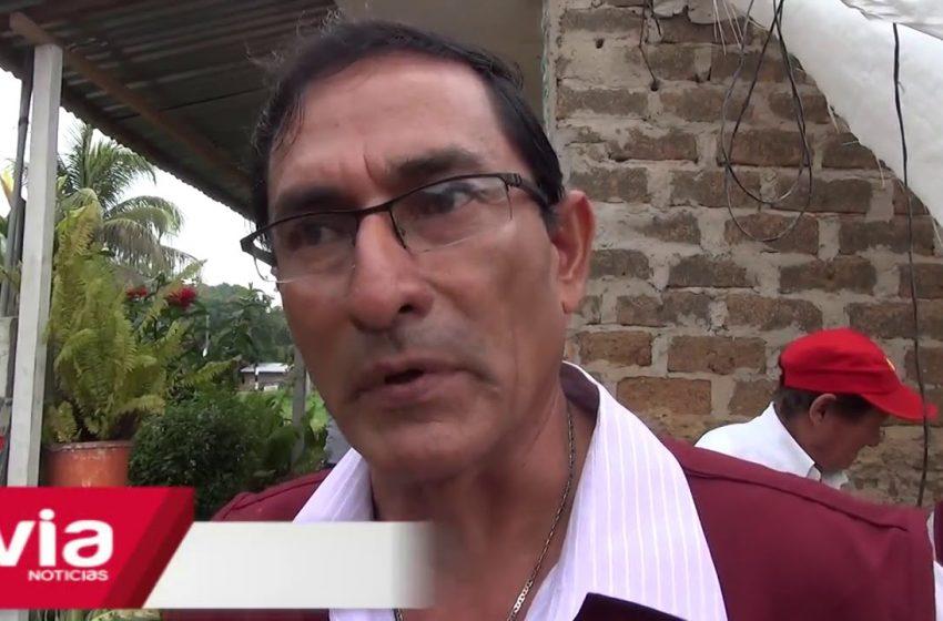 Inspeccionan invasión de faja marginal de la quebrada Ahuashiyacu