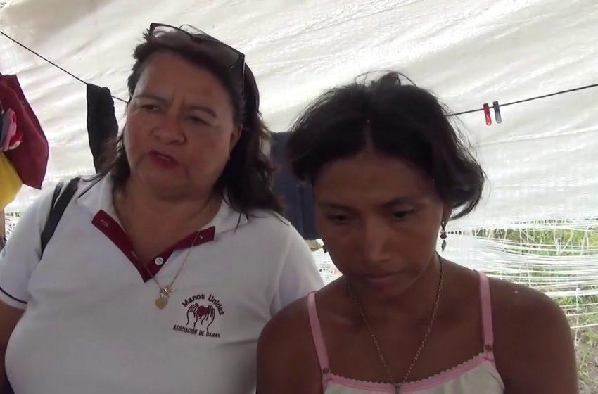 Morales: madre de familia refugiada de su agresor comienza a recibir apoyo