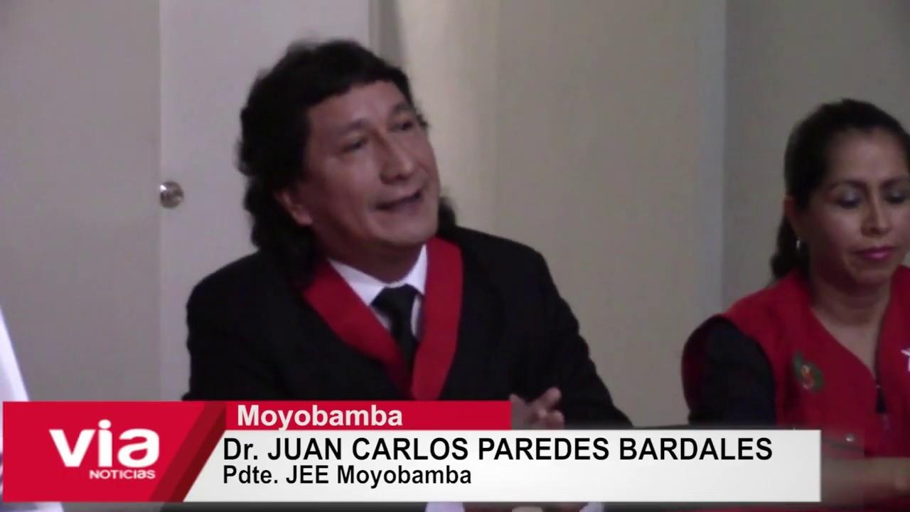 Moyobamba: JEE da a conocer resultados oficiales de elecciones congresales
