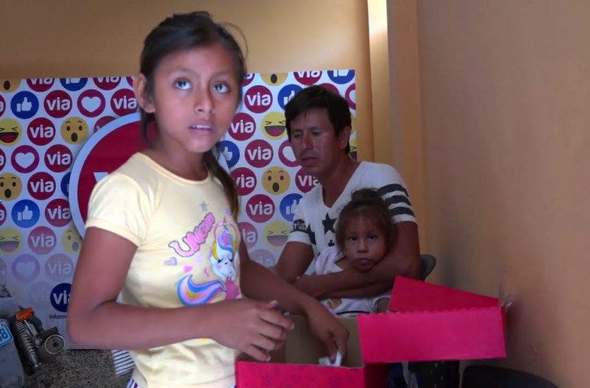 Padre de familia que fue abandonado por su mujer pide ayuda para sus hijos