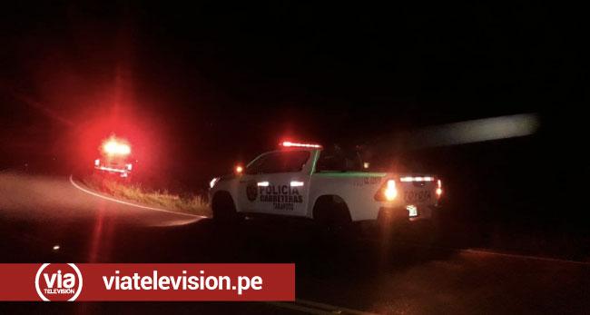 Asalto a mano armada en la carretera Fernando Belaúnde Terry cerca de Tabalosos