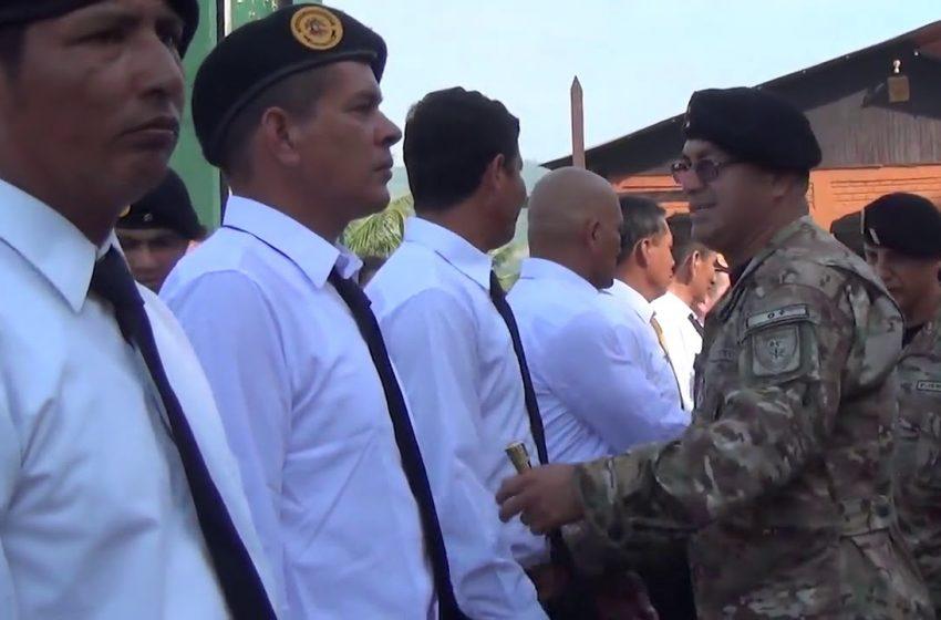 Realizan ceremonia de reconocimiento  a ex combatientes del Alto Cenepa