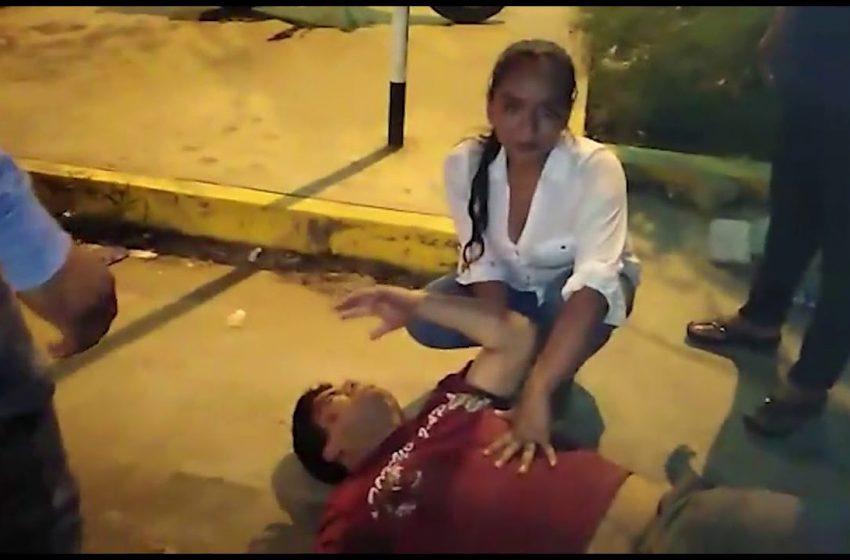 Tarapoto: choque de motocicletas deja tres personas heridas