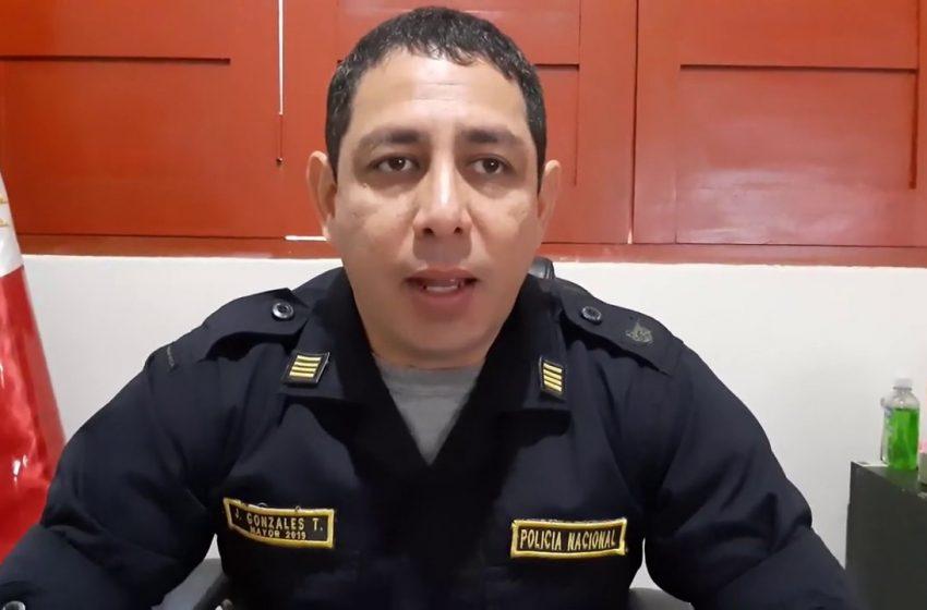 Comisario se pronuncia por suboficial que no acató toque de queda
