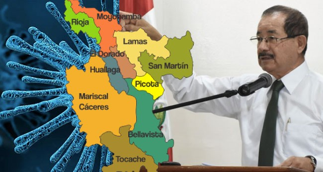 Gobernador regional Pedro Bogarín se pronuncia sobre el Coronavirus