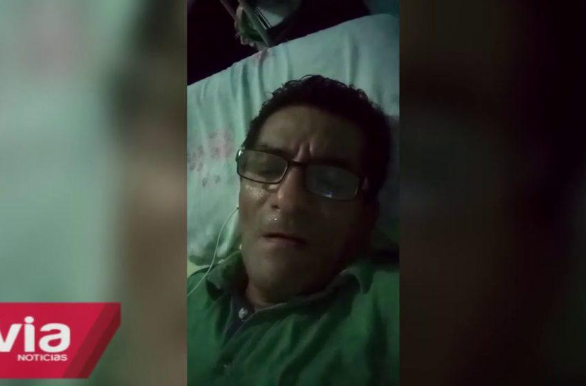 En Tarapoto hombre desmiente estar contagiado por coronavirus