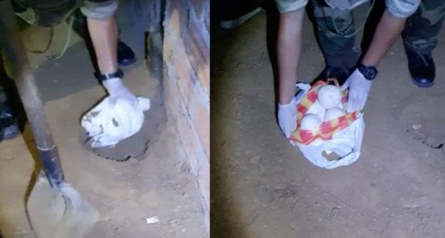 Alto Amazonas: decomisan cerca de 8 kilos de pasta básica de cocaína