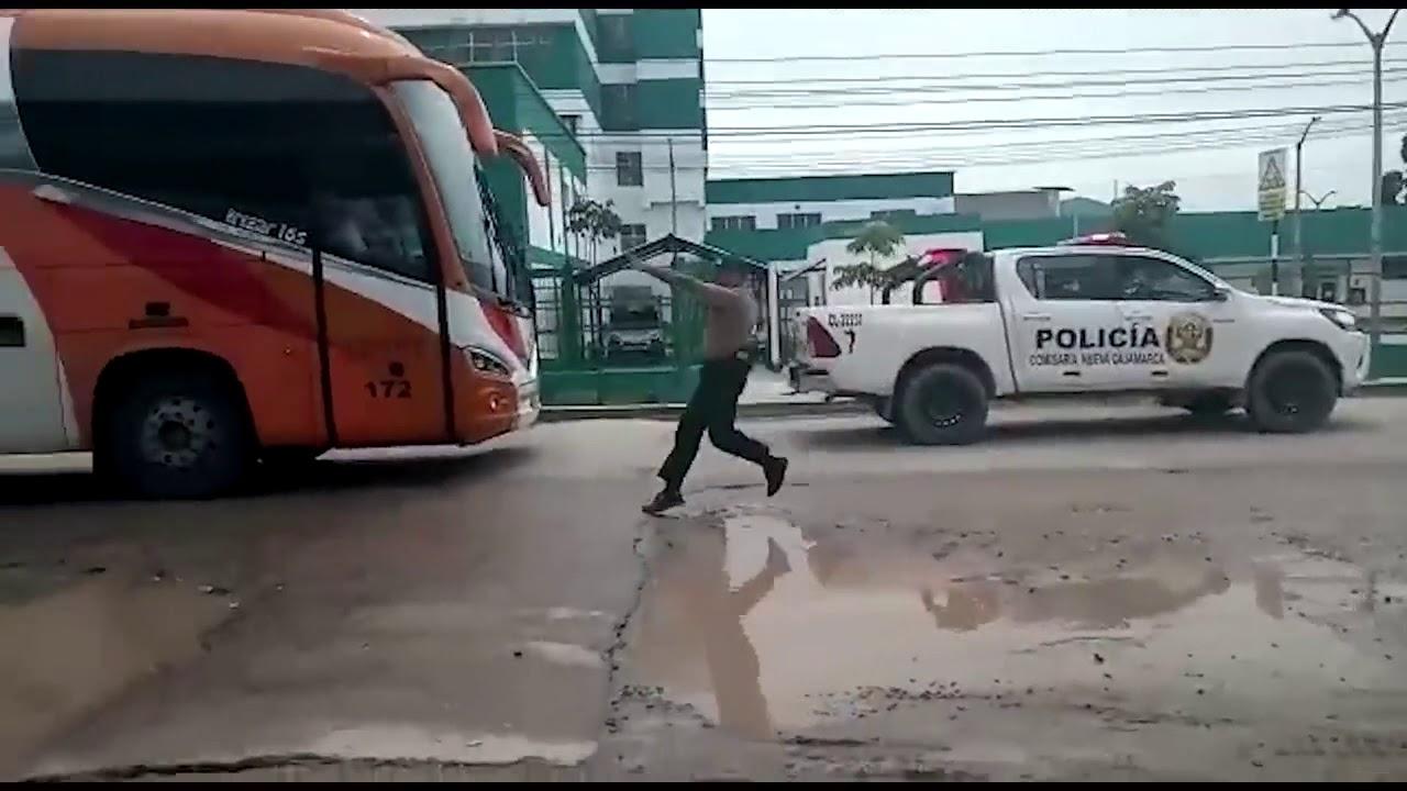 Moyobamba: descartan coronavirus en pasajeros en bus interprovincial