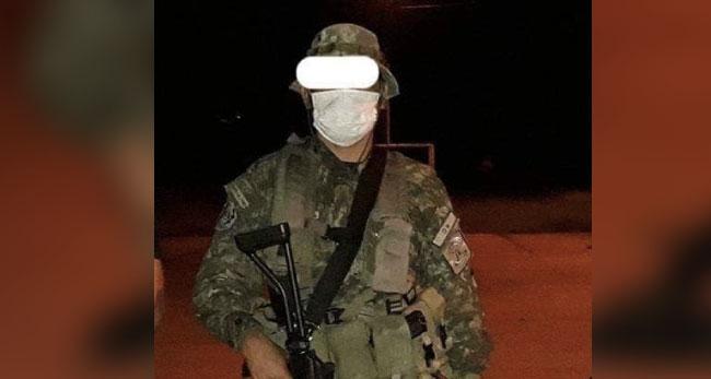 Soldado se habría disparado por accidente con su propio armamento y perdió la vida