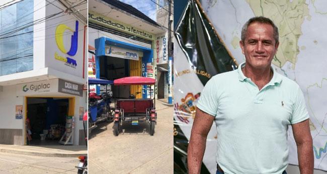 Tarapoto: critican a alcalde Tedy del Águila por abrir su negocio en cuarentena
