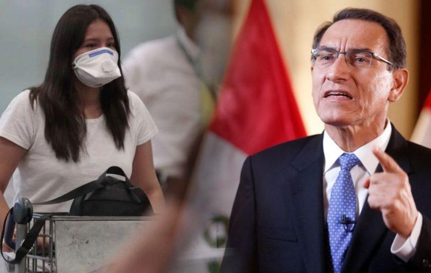Martín Vizcarra decretó Estado de Emergencia: 15 días de cuarentena y cierre de fronteras