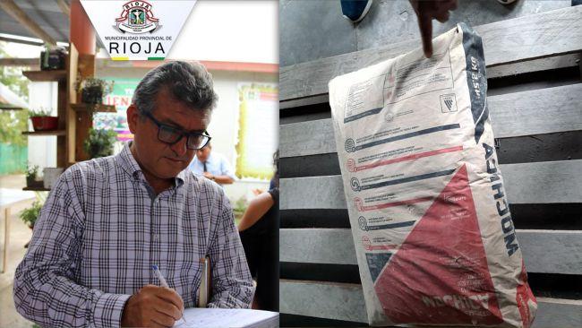 Rioja: investigan a alcalde por desaparición de bolsas de cemento de almacén municipal