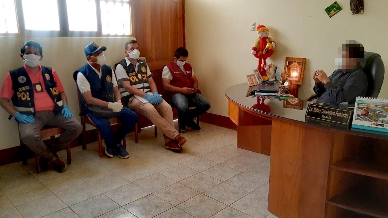 Intervienen Municipalidad distrital de Habana por presuntos actos de corrupción
