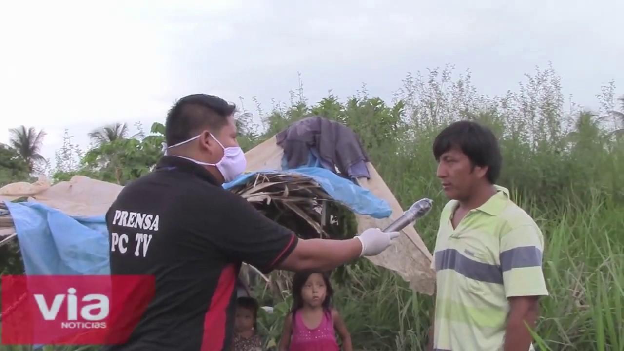 Juanjui: pernoctaban en terreno de aeropuerto al no poder regresar a su localidad