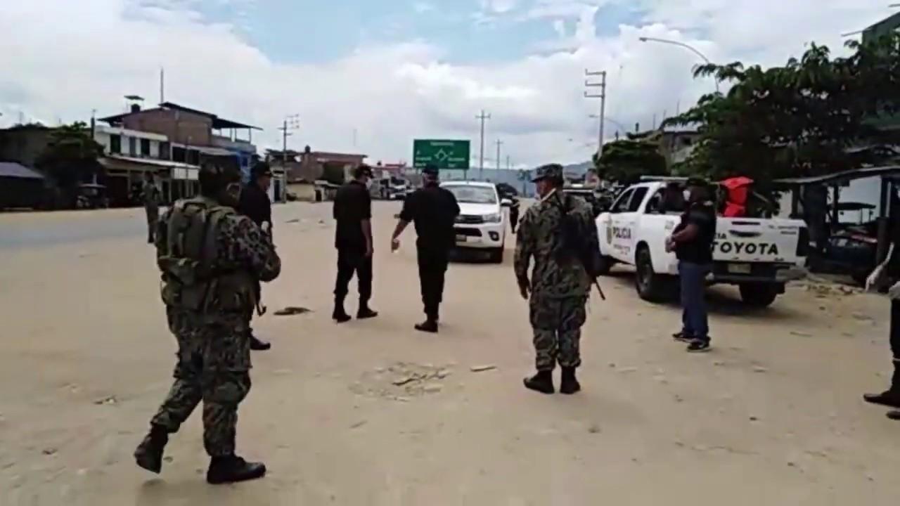 Picota: intensifican operativos ante desacato de Estado de Emergencia