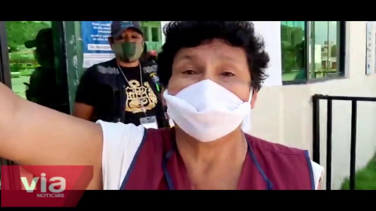 Picota: vecinos se oponen a que personas cumplan cuarentena en polideportivo