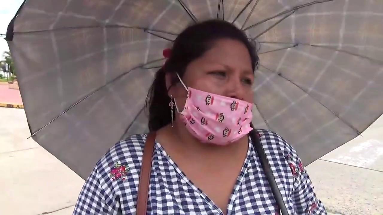 Tarapoto: beneficiarios del bono de S/. 380 forman largas colas en los bancos