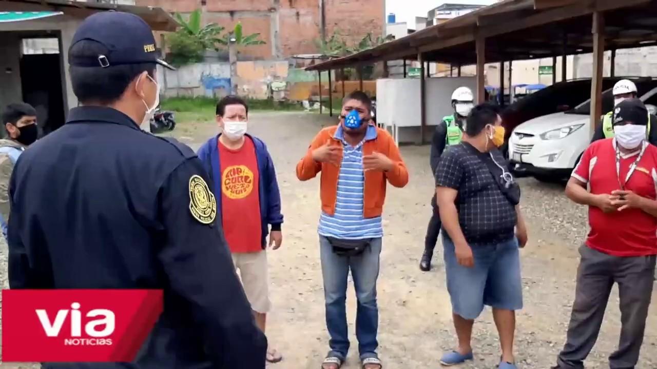 Tarapoto: mototaxistas no respetan inmovilización vehicular