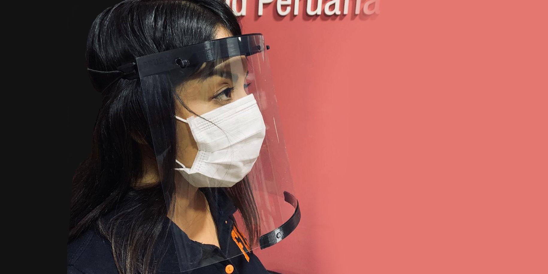 Tarapoto: UPEU donará mil caretas de protección facial para personal de salud