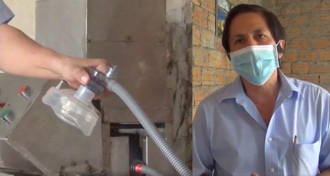 Tarapoto: docentes de la UNSM construyen prototipo de ventilador mecánico