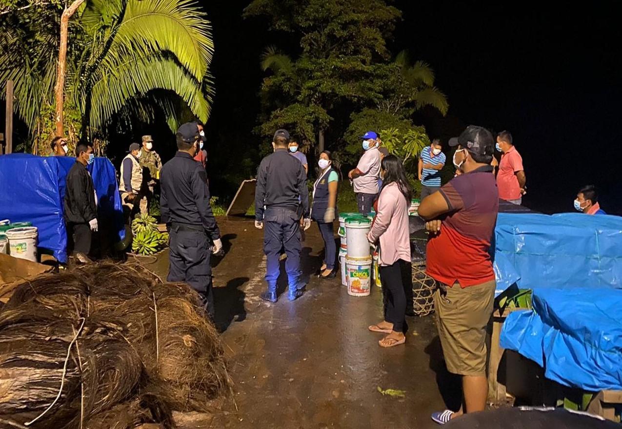Yurimaguas: intervienen a pasajeros de embarcación por viajar sin autorización