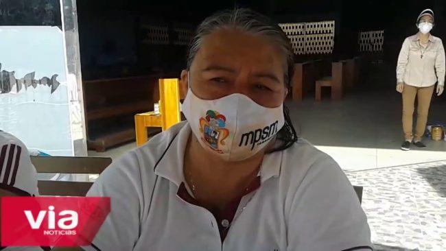 Lamas: problemas para traslado de donaciones para Planta de Oxígeno