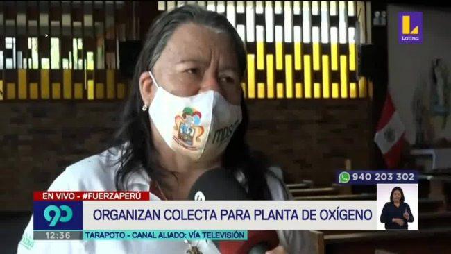 Tarapoto: colecta para la planta de oxígeno continuará esta semana