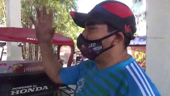 Mototaxista acondiciona su unidad con menos de 20 soles de presupuesto