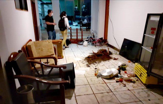 Moyobamba: prisión preventiva para sujeto con covid-19 que agredió a policía