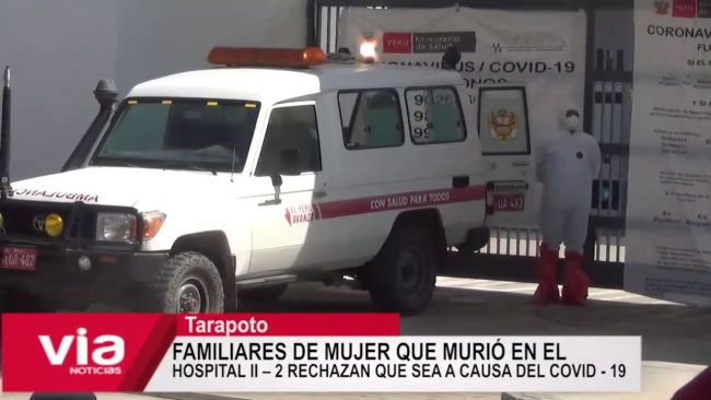 Mujer que murió en el Hospital II-2, rechazan que sea a causa del covid-19