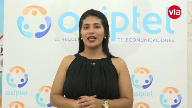 Osiptel: información sobre adquisición de  un servicio móvil