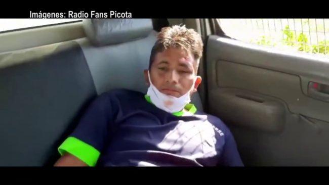 Picota: una persona resultó herida al caer  de una camioneta en marcha