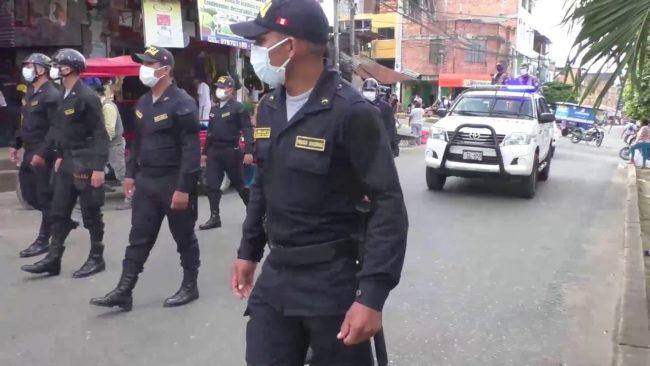 Tarapoto: continuarán operativos  contra comercio ambulatorio