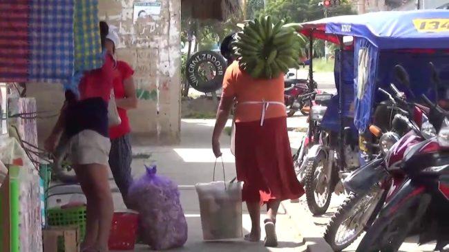 Tarapoto: fumigan mercado El Mangualito contra el COVID-19