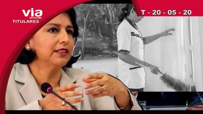 Titulares 20 de Mayo del 2020 – VIA Noticias de Tarapoto