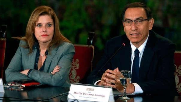 Congreso aceptó la renuncia irrevocable de Mercedes Aráoz al cargo de vicepresidenta